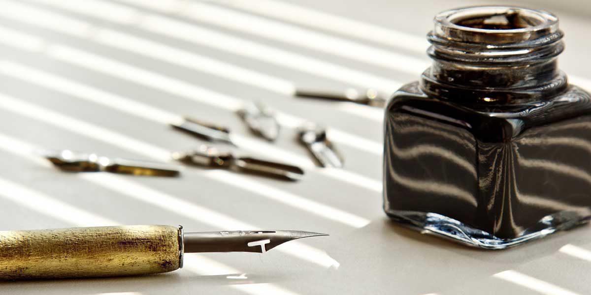 calligraphic tools